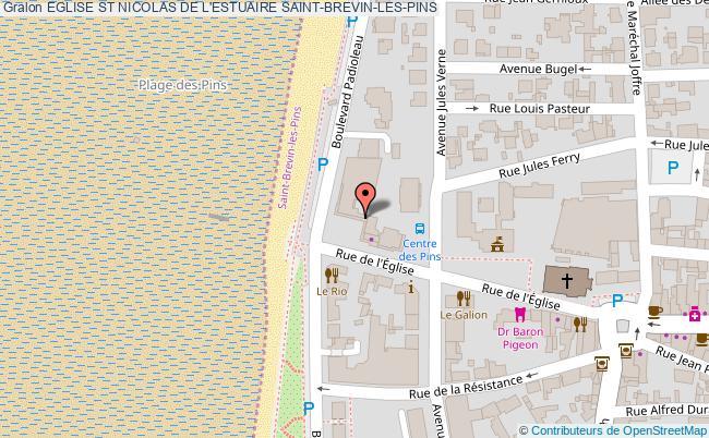 Eglise st nicolas de l 39 estuaire saint brevin les pins - Saint brevin les pins office de tourisme ...