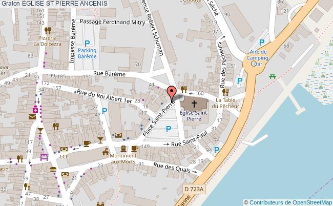 plan Église St Pierre Ancenis
