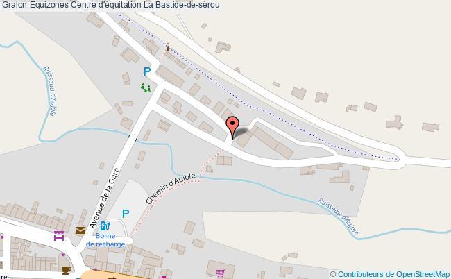 plan Equizones Centre D'équitation La Bastide-de-sérou