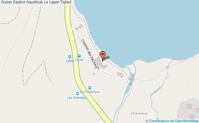 plan Espace Aquatique Le Lagon Tignes