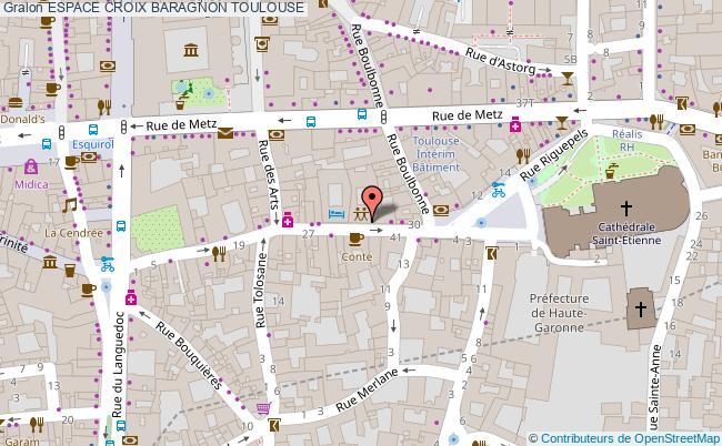 plan Espace Croix Baragnon Toulouse