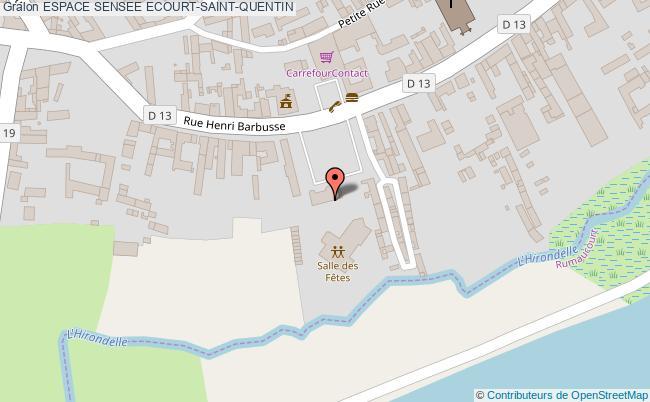 plan Espace Sensee Ecourt-saint-quentin
