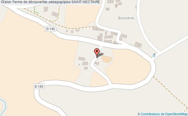 plan association Ferme De Découvertes Pédagogiques Saint-nectaire SAINT-NECTAIRE