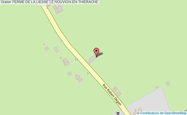 plan Ferme De La Liesse Le Nouvion-en-thierache