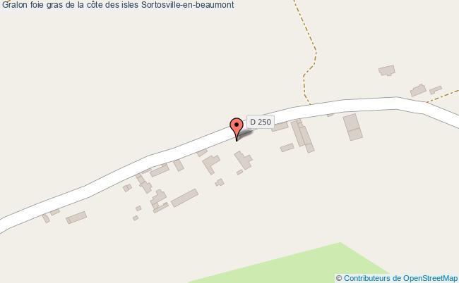 plan Foie Gras De La Côte Des Isles Sortosville-en-beaumont