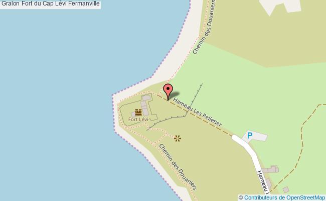 plan Fort Du Cap Lévi Fermanville
