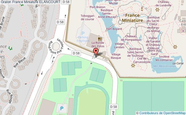 France miniature elancourt tourisme complexe de loisirs for Piscine elancourt