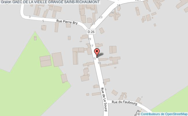 plan Gaec De La Vieille Grange Sains-richaumont