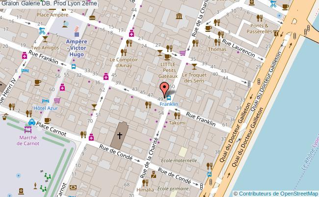 plan Galerie Db. Prod Lyon 2ème