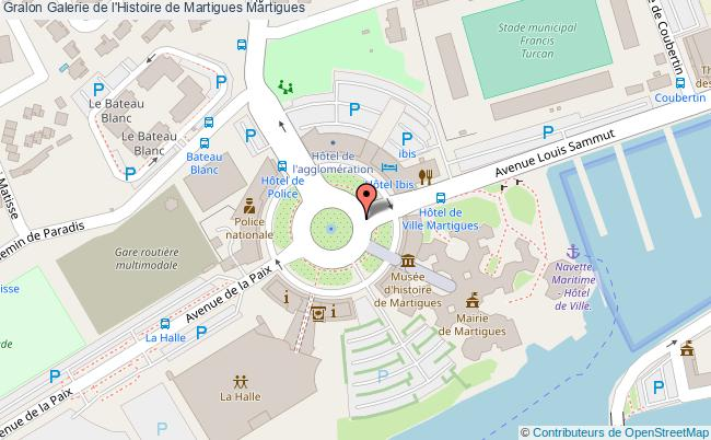 plan Galerie De L'histoire De Martigues Martigues