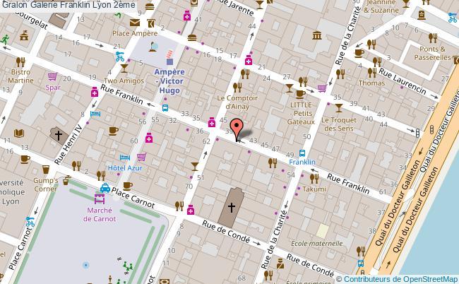 plan Galerie Franklin Lyon 2ème