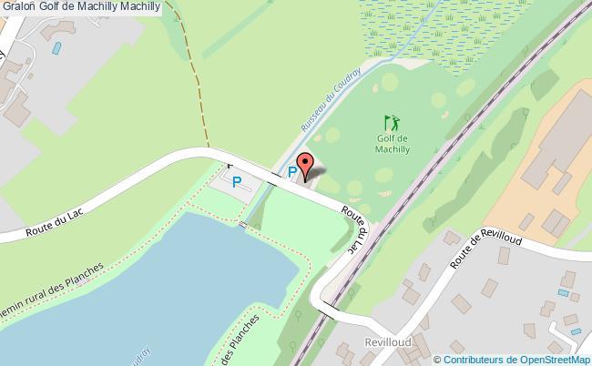 plan association Golf De Machilly Machilly Machilly