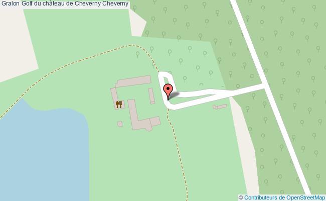 plan Golf Du Château De Cheverny Cheverny