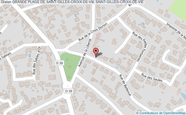 plan Grande Plage De Saint-gilles-croix-de-vie Saint-gilles-croix-de-vie