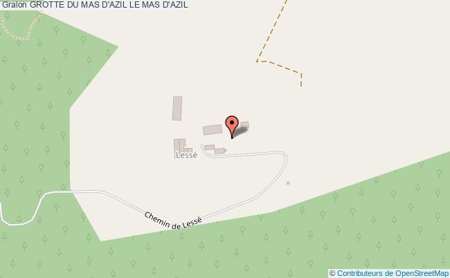 plan Grotte Du Mas D'azil Le Mas D'azil