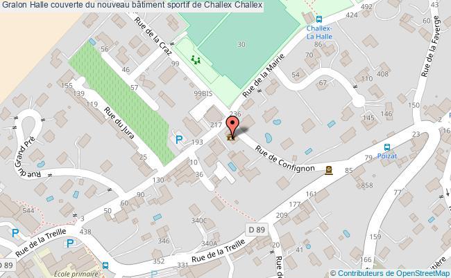 plan Halle Couverte Du Nouveau Bâtiment Sportif De Challex Challex