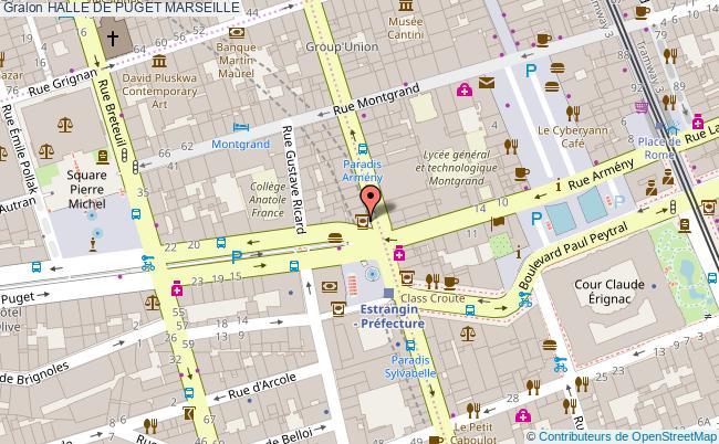 plan Halle De Puget Marseille