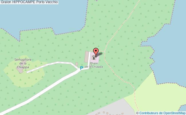 plan Hippocampe Porto Vecchio