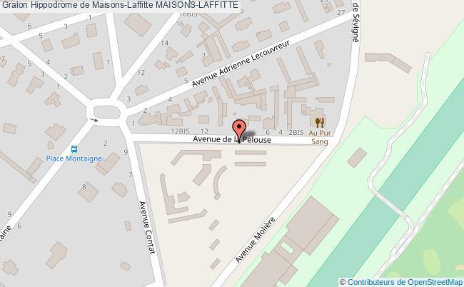 plan association Hippodrome De Maisons-laffitte Maisons-laffitte MAISONS-LAFFITTE