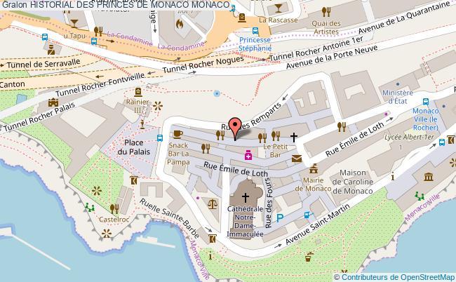 plan Historial Des Princes De Monaco Monaco