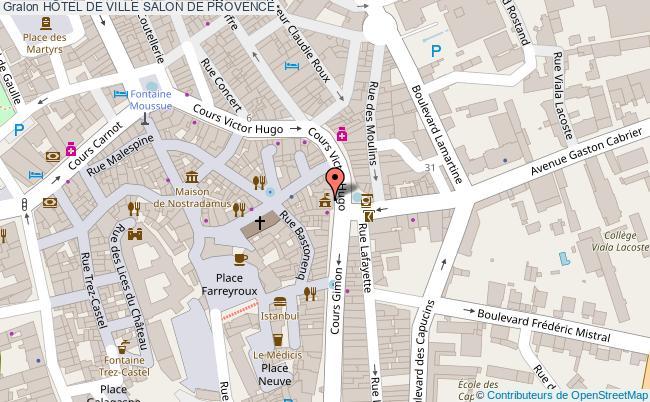 plan HÔtel De Ville Salon De Provence