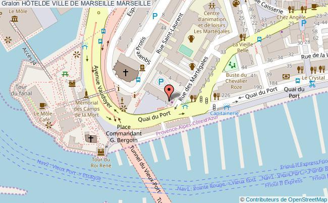 plan HÔtelde Ville De Marseille Marseille