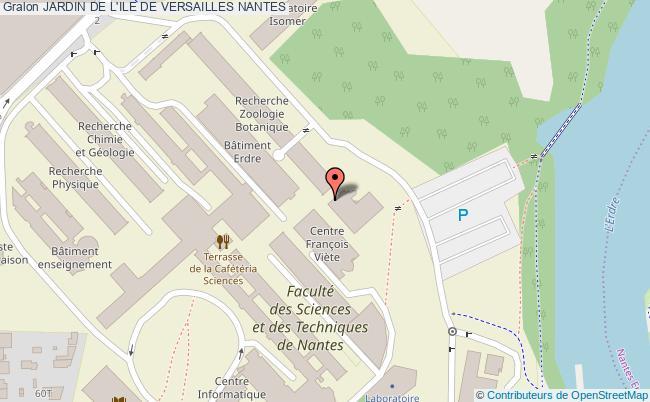 plan Jardin De L'ile De Versailles Nantes