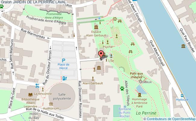 plan Jardin De La Perrine Laval