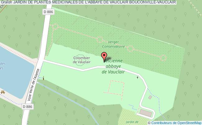 plan Jardin De Plantes Medicinales De L'abbaye De Vauclair Bouconville-vauclair