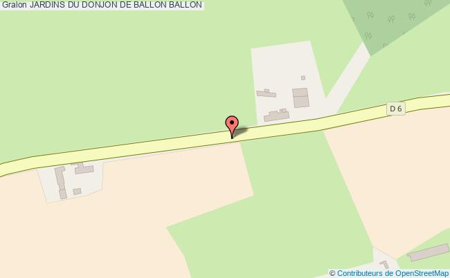 plan Jardins Du Donjon De Ballon Ballon