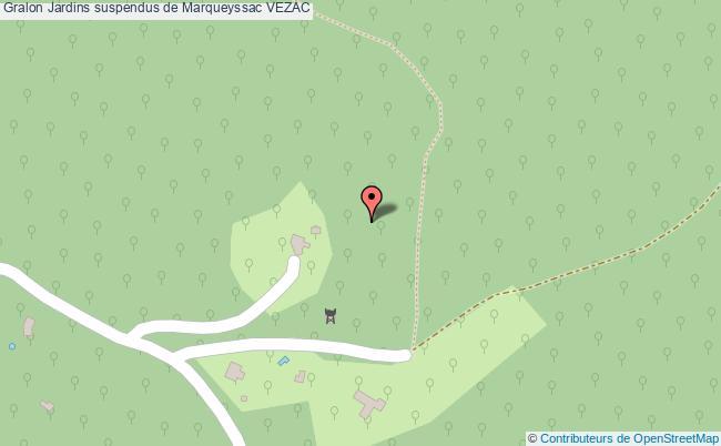 plan association Jardins Suspendus De Marqueyssac Vezac VEZAC