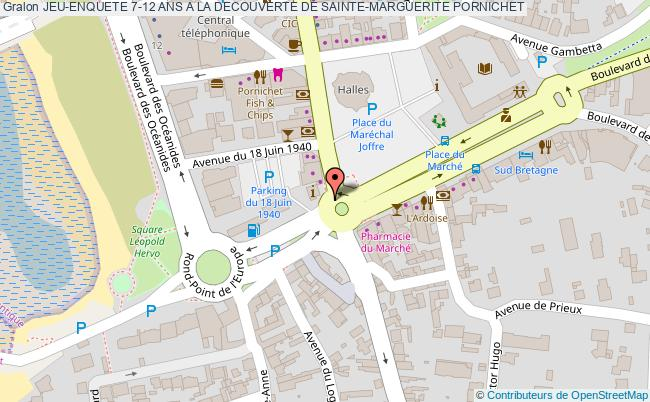 plan Jeu-enquete 7-12 Ans A La Decouverte De Sainte-marguerite Pornichet