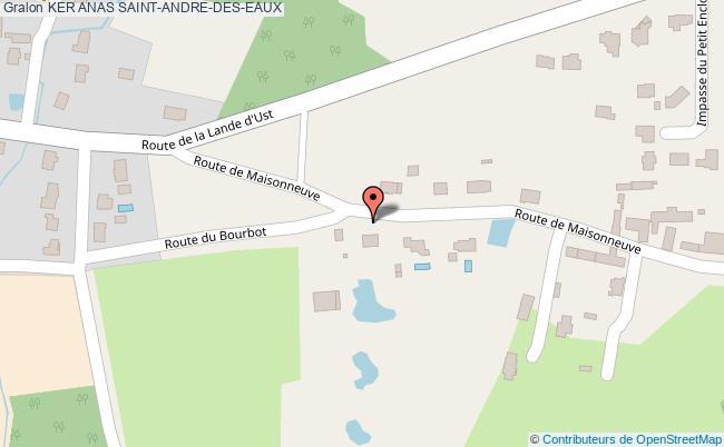 plan Ker Anas Saint-andre-des-eaux