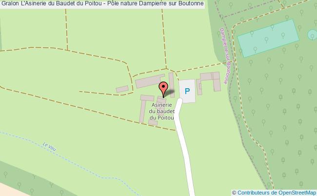 plan L'asinerie Du Baudet Du Poitou - Pôle Nature Dampierre Sur Boutonne
