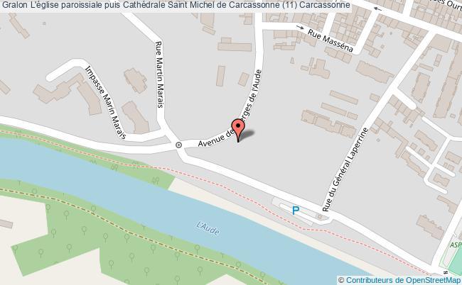 plan L'église Paroissiale Puis Cathédrale Saint Michel De Carcassonne (11) Carcassonne