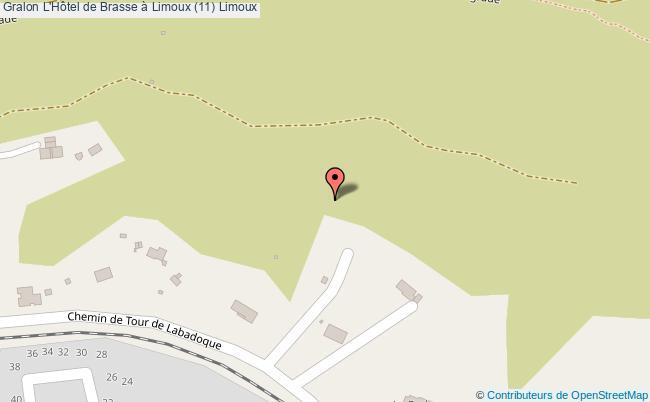 plan L'hôtel De Brasse à Limoux (11) Limoux