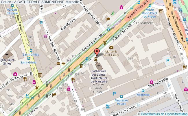 plan La CathÉdrale ArmÉnienne Marseille
