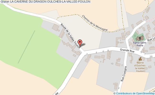 plan La Caverne Du Dragon Oulches-la-vallee-foulon
