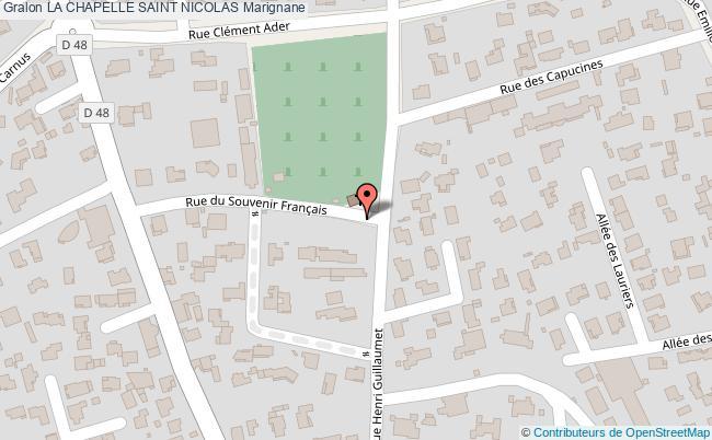 plan La Chapelle Saint Nicolas Marignane