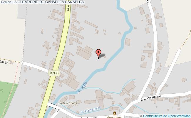 plan association La Chevrerie De Canaples Canaples CANAPLES