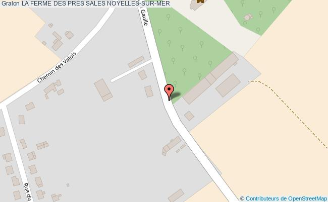 plan association La Ferme Des Pres Sales Noyelles-sur-mer NOYELLES-SUR-MER
