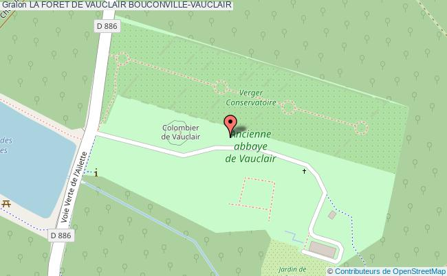 plan La Foret De Vauclair Bouconville-vauclair