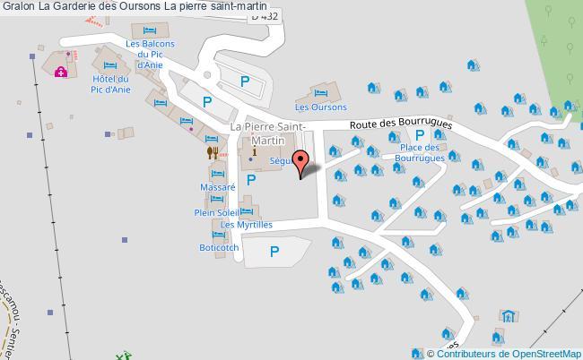 plan La Garderie Des Oursons La Pierre Saint-martin