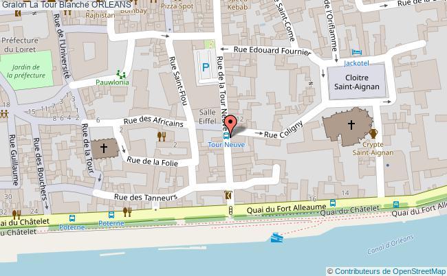 plan La Tour Blanche Orleans