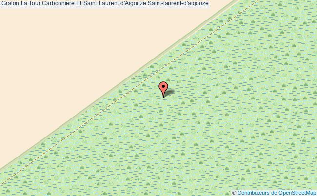 plan La Tour Carbonnière Et Saint Laurent D'aigouze Saint-laurent-d'aigouze