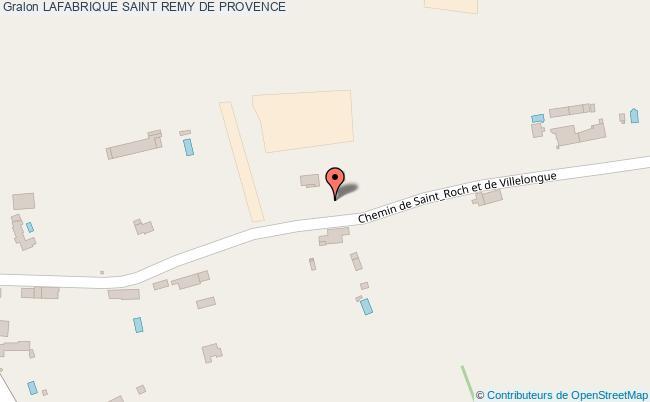 plan Lafabrique Saint Remy De Provence