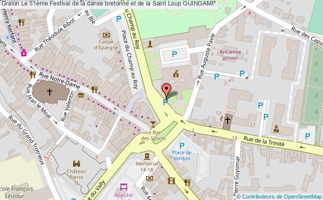 Le 51 me festival de la danse bretonne et de la saint loup guingamp tourisme f tes et festivals - Office tourisme pic saint loup ...