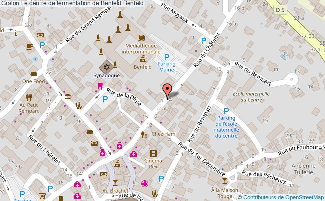 plan Le Centre De Fermentation De Benfeld Benfeld