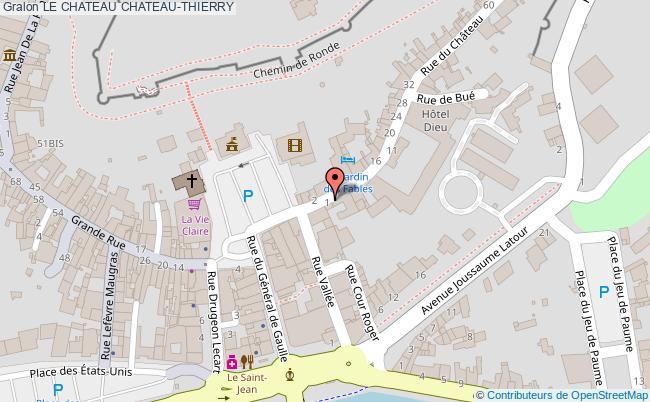 plan Le Chateau Chateau-thierry