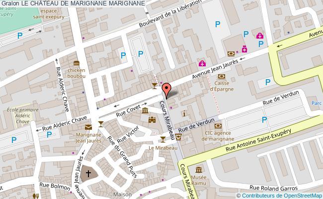 plan Le ChÂteau De Marignane Marignane